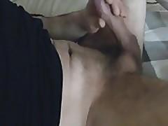 Wichsen und Spritzen