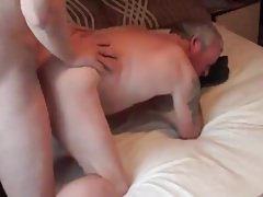 Gordon and I fuck each other bareback
