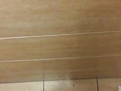 Emptying myself in a public restroom (please comment!)
