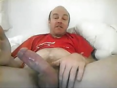 Lusty Str8 Daddy with Fat Cock and Impressive Cumshot #23