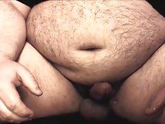 horny chubby bear jerk off