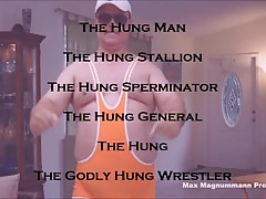 The Hung Beefy Daddy, General, Wrestler & His 6 Mega Loads