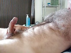Daddy shoots his load