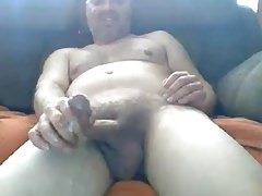 Str8 Daddy with Big Cock and Balls Blows a Hot Load #48