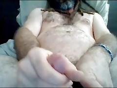 Australian Str8 Daddy with Dreadlocks cums on cam #47