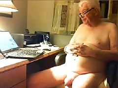 old man naked show