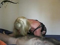 Submissive sissy fucked by daddy