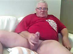 Fat dad cum