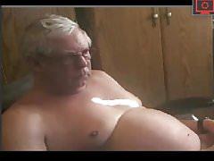 grandpa excites his dick