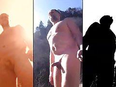 nudist fun at the water