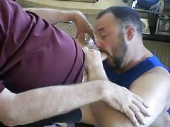Daddy and Grandpa BlowJob