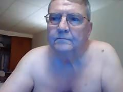 grandpa show on webcam
