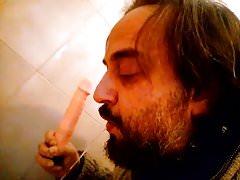 Kocalos - Sucking my dildo