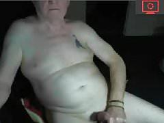 grandpa jerk off his cock
