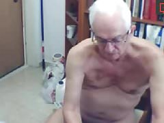 grandpa cock show nipple play