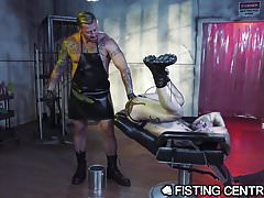 Big Sexy Italian Dr. Daddy Fists Cute Inked Males Ass