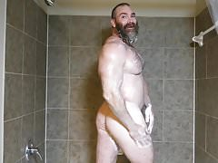 Muscle Daddy Rick Flex Jerk Off & Cum