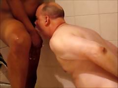 A Brother's Semen Shower IN The Shower.