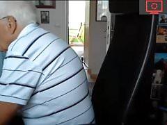 grandpa horny  cam play