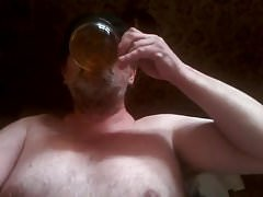 I drink my piss  for Mistress Justine. I love that.