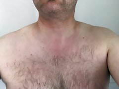mature exhibitionist - selfie body inspection