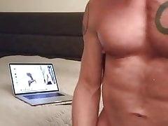 Cumming watching Ariel
