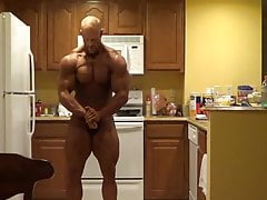 Brandon Posing in Kitchen