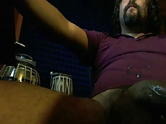 LATIN DADDY HAS A HUGE UNCUT DICK