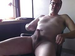 Taking off my undies and cumming!