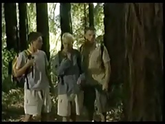 Threesome in the woods