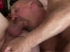 Buddy Cums in My Ass