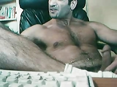 daddy sprayed self facial