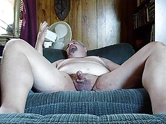 me wanking and eating it