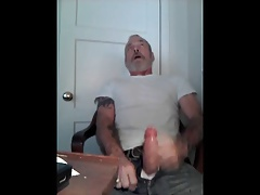 Hung Sexy Rugged Daddy Jack Off 2