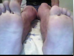 straight guys feet on webcam male feet pies de hombre piedi