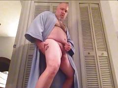NudeTime63 Shoots His Jizz