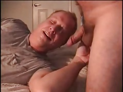 Deepthroat and cumming on face and fronse