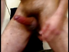 Friend Stroking out a Load