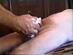 Masturbation and handjob